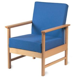 BEWDLEY Wooden Easy Armchair | Reception and Lounge Seating | BEW1A