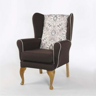 HESKETH Queen Anne Wing Chair | High Back Chairs | BL3W