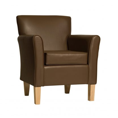 BURNHAM Low Back Lounge Armchair | Reception and Lounge Seating | BA1L