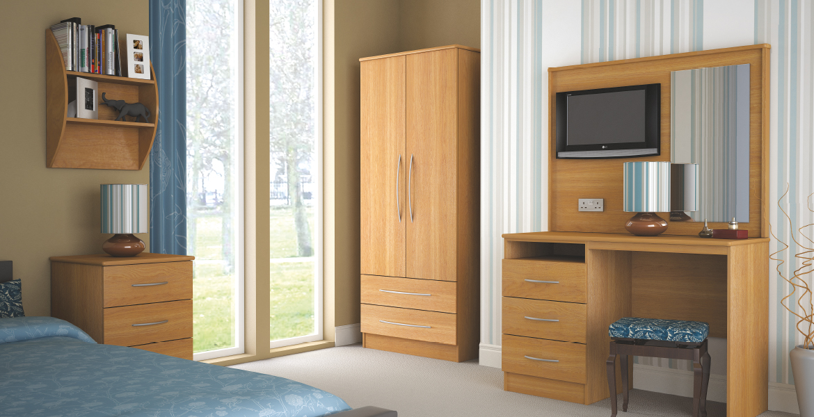 Coventry Range Bedroom Set - Care Home Furniture Direct