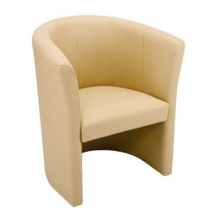 Budget Tub Chair Faux Leather | Reception and Lounge Seating | BA1L