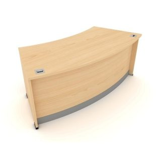 Radius Reception Desk. 1900mm Wide. MFC Finish | Desks | ERR