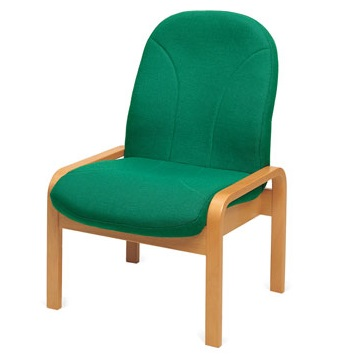 Soft Seating Easy Chair Wood Frame   Reception and Lounge Seating   EW1