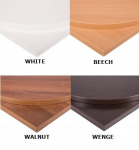 Café/Dining Tables, Cafe Tables, Cafe Tables | Finishes