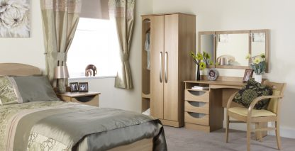 Oxford Dementia - Wide Double Door Wardrobe | Oxford Dementia Bedroom Collection | BRDW2