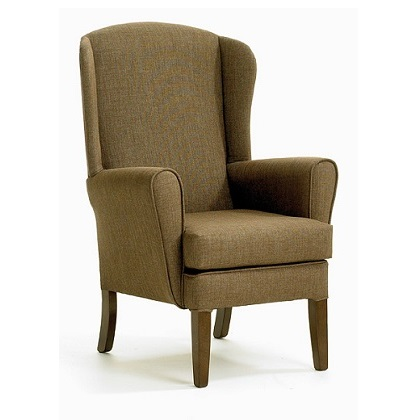 Appleton Small High Wing Back Chair Care Home Furniture Direct