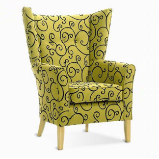MELBOURNE High Back Wing Chair   High Back Chairs   SH1W