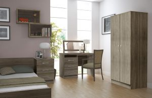 bedroom care home furniture wardrobe drawers bedside